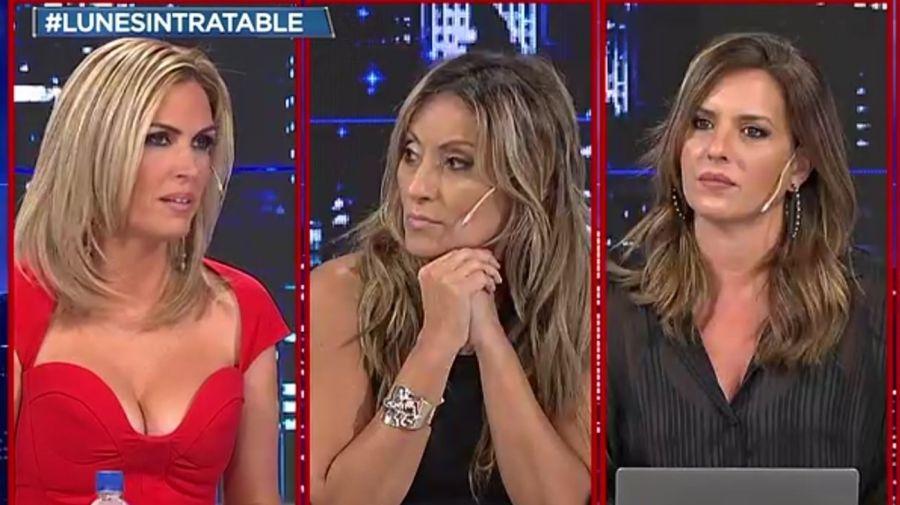 Viviana Canosa, Marcela Tauro y Soledad Larghi