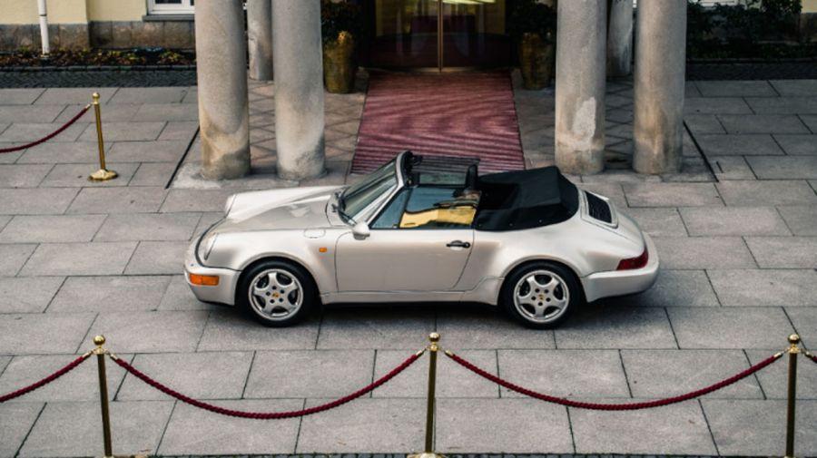El Porsche que perteneció a Maradona y que fue subastado en París 20210310