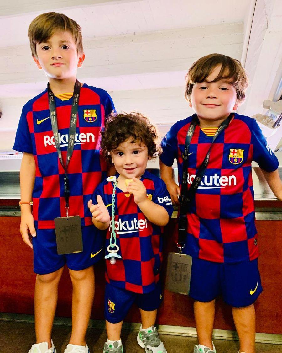 Los 3 años de Ciro Messi: las mejores fotos del hijo menor de Leo y Antonela Roccuzzo