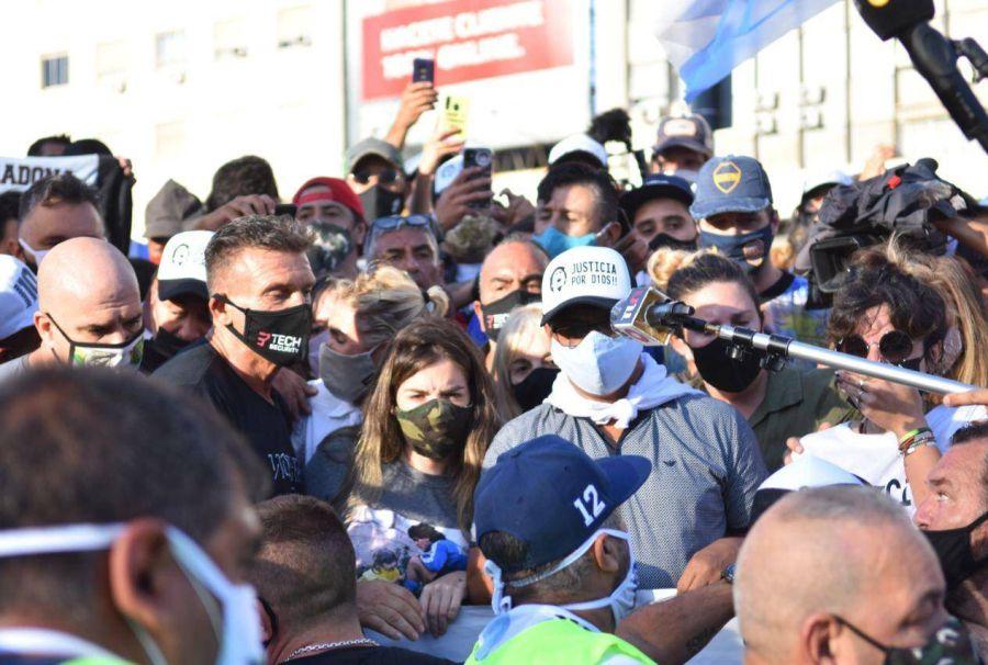 Marcha por Diego Maradona