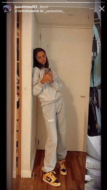 El look casual de Juanita Tinelli para un día de semana
