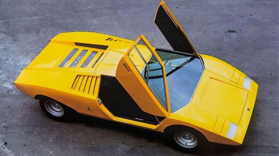 El superdeportivo Lamborghini Countach LP 500 cumple 50 años