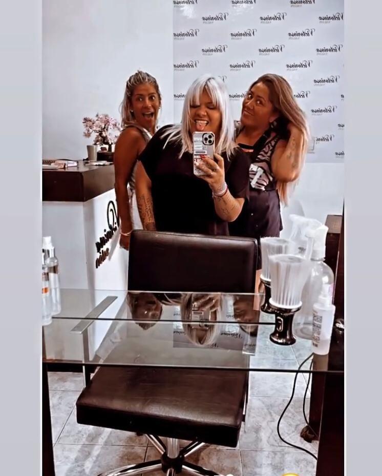 Morena Rial cambió de look: nuevo corte de pelo