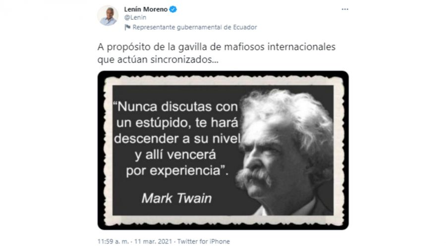 Renuncia Canciller Ecuador