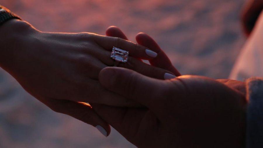 Jennifer Lopez y Alex Rodriguez compromiso