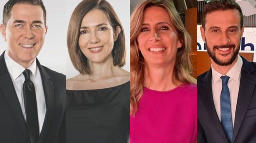 Rodolfo Barili, Cristina Pérez, Luciana Geuna y Diego Leuco 12-03