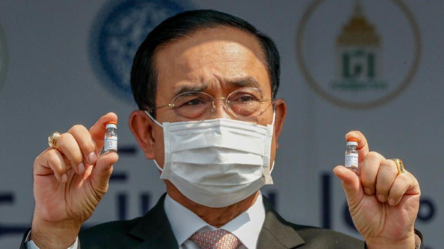 Tailandia AstraZeneca Vacunación