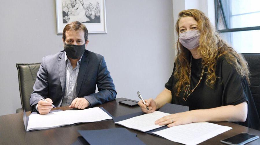 Mariano Recalde y María Rosa Muiños son los nuevos titulares del PJ porteño