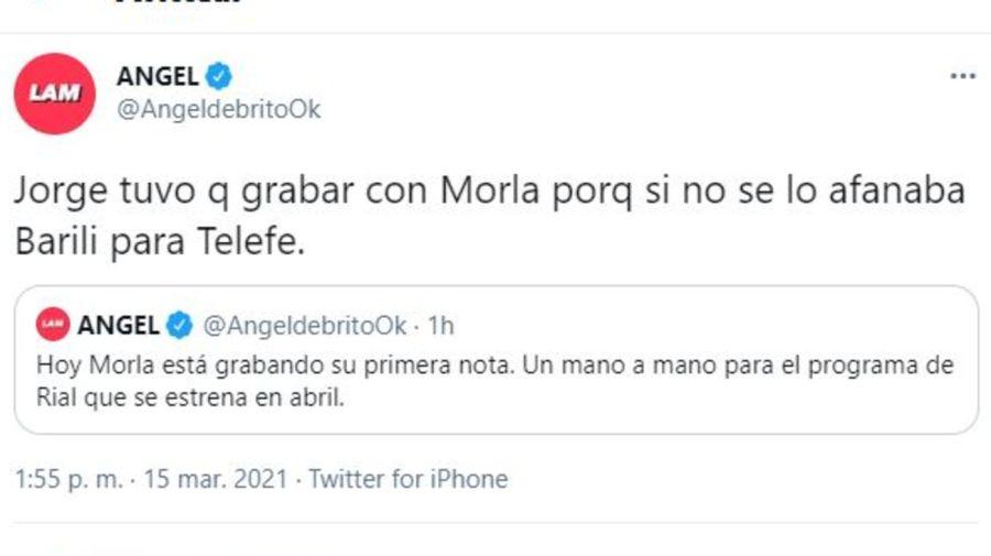 Matias Morla primer invitado TV Nostra