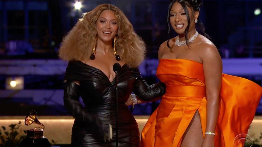 Megan Thee Stallion y Beyoncé