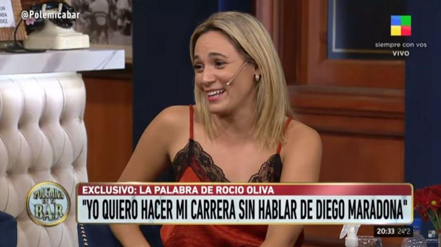 Rocio Oliva - Polemica en el Bar