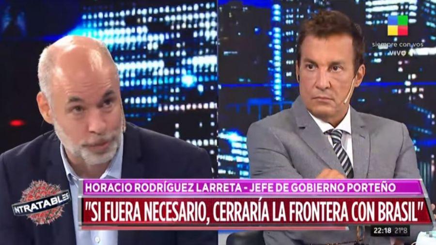 Horacio Rodriguez Larreta - Paulo Vilouta