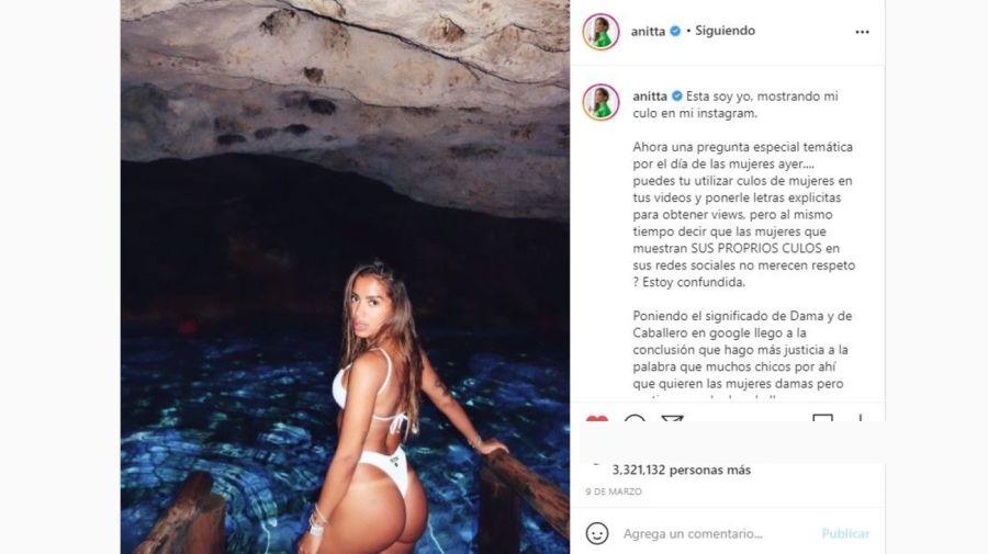 Anitta contra Arcangel