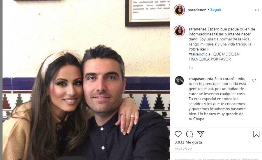 Apareció una tercera en discordia entre Iker Casillas y Sara Carbonero