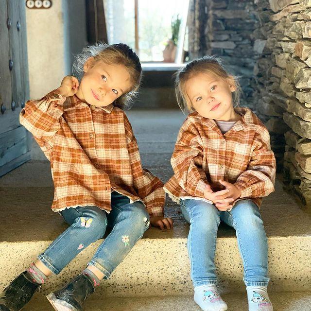 Cholo Simeone y Carla Pereyra mostraron lo grandes que están sus hijas