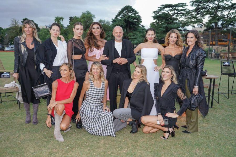 Con Pampita y Guillermina Valdés: Fabian Zitta presentó su colección