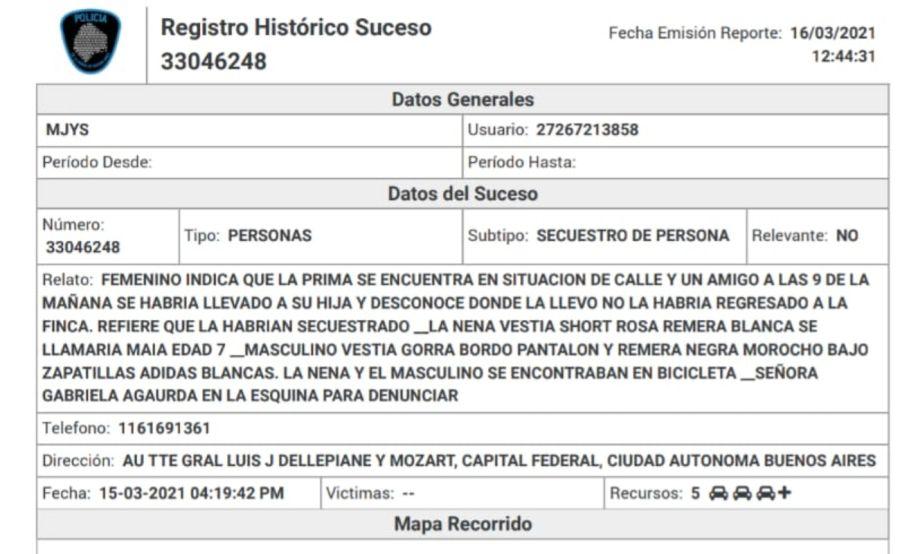 maia policia ciudad denuncia g_20210318