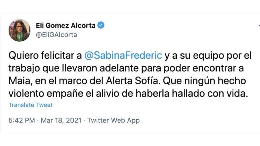 Elizabeth Gomez Alcorta Frederic