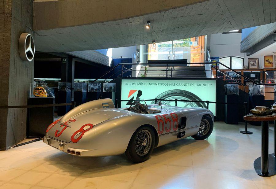 Mercedes SLR de Juan Manuel Fangio