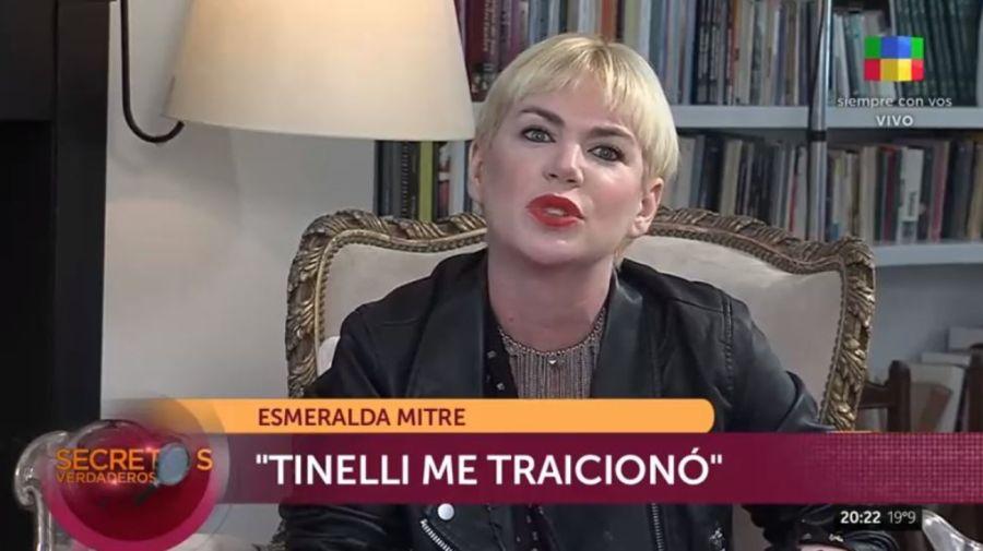 Esmeralda Mitre contra Marcelo Tinelli
