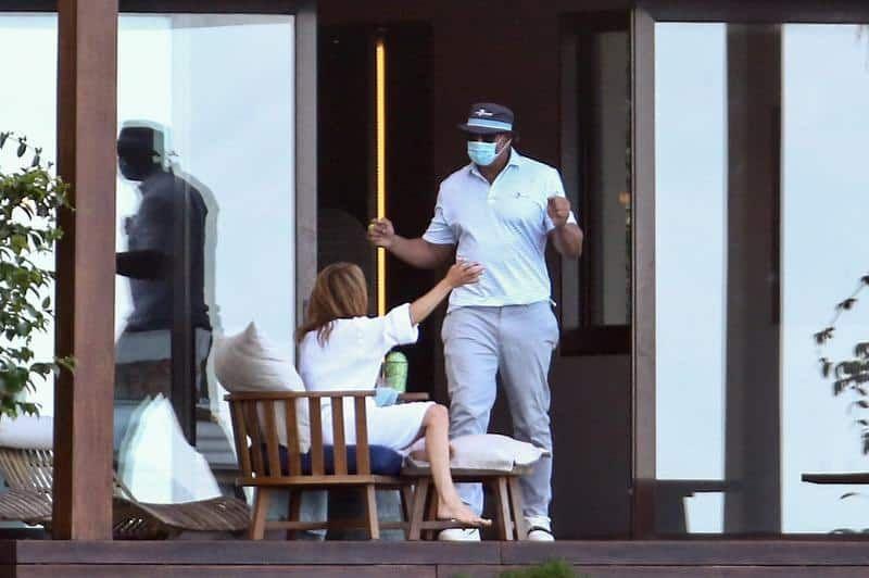 A los besos: Jennifer Lopez y Alex Rodríguez desmienten separación en República Dominicana