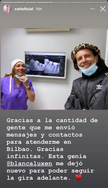 En medio de sus vacaciones con Cande Tinelli, Coti Sorokin tuvo una urgencia médica