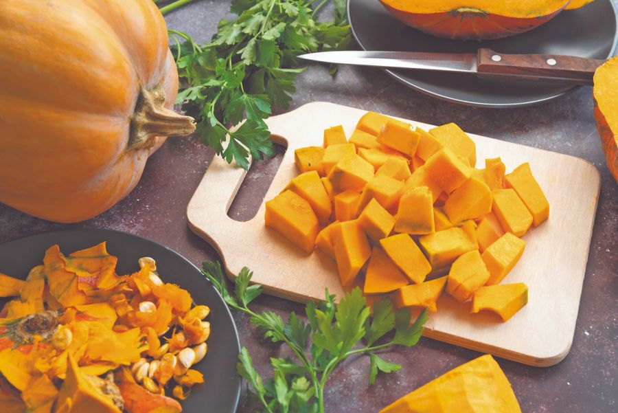 No cocinar la calabaza en exceso para que no pierda vitaminas: máximo, unos 20 minutos.