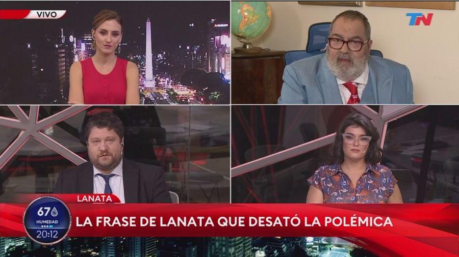 Carolina Amoroso, Jorge Lanata, Nicolas Wiñazki y Marina Abiuso