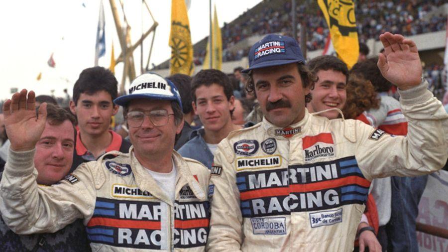 Jorge Recalda, ganador del Rally Argentina en 1988