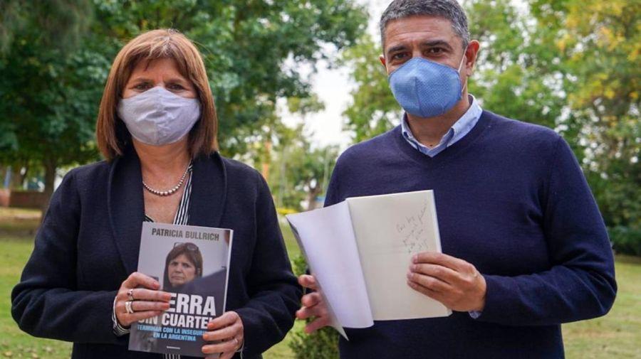 Macri junto a Bullrich