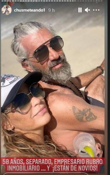 Valeria Larrarte, ex de Coti, hizo oficial su nuevo romance