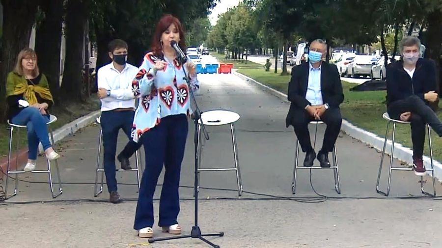 Cristina Fernández en acto 24 de Marzo 20210324