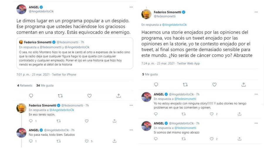 Federico Simonetti vs Angel de Brito