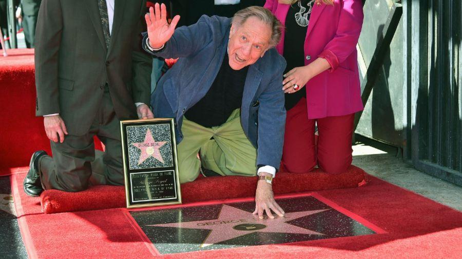 George Segal - estrella de la fama