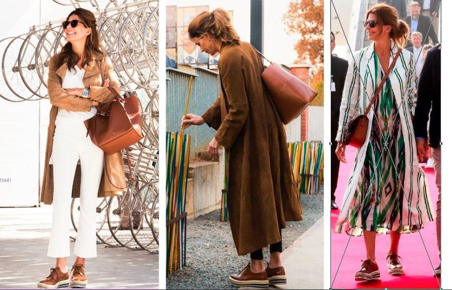 De Jeans y Prada: Así es el atuendo de tarde perfecto de Juliana Awada
