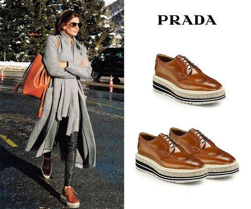 De Jeans y Prada: Así es el perfecto atuendo de tarde de Juliana Awada