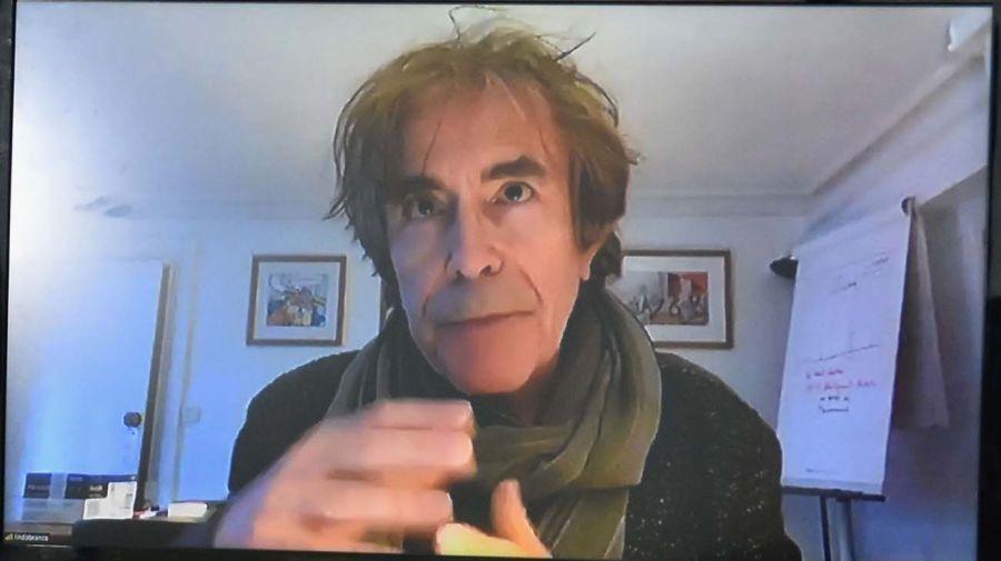 El filósofo François Jullien, en la entrevista con Jorge Fontevecchia.