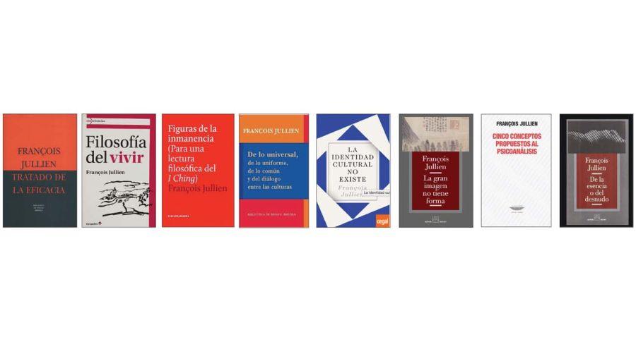 Libros del filósofo François Jullien.