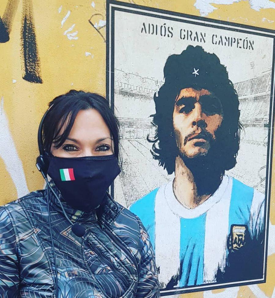 Quién es Laura Grassi, la azafata italiana que conquistó a los argentinos
