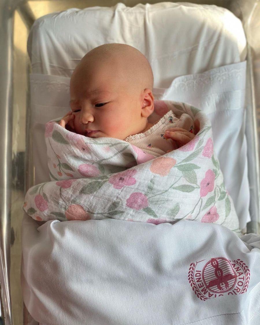 Guillermina Valdés emocionada tras el nacimiento de Olimpia, la hija de Paula Kohan