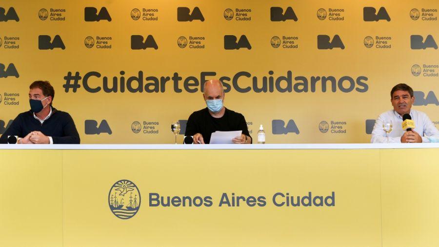 Anuncian más vacunación en la Ciudad de Buenos Aires.
