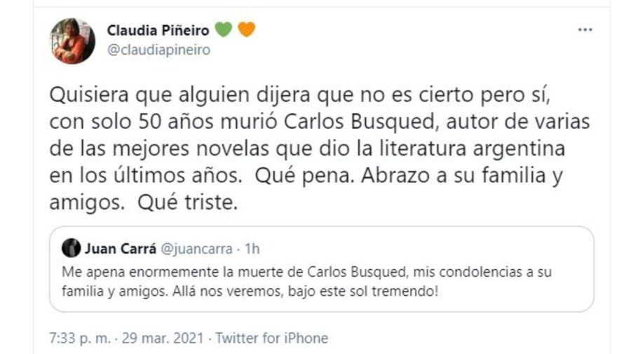 Despedida Carlos Busqued