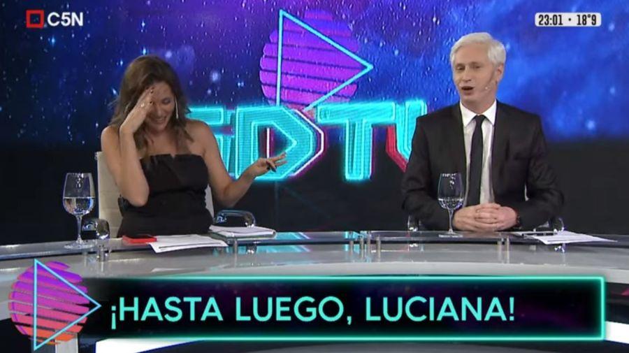 Despedida Luciana Rubinska