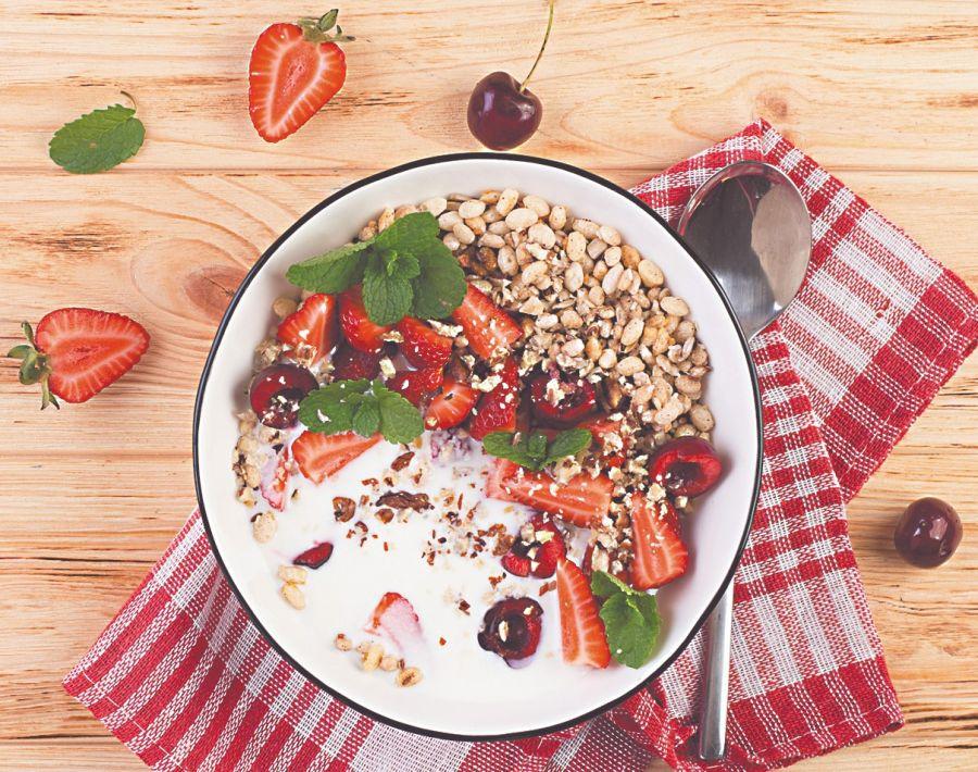En el germen de los granos integrales se encuentra la vitamina E, un gran antioxidante.