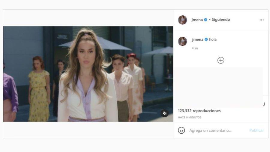 Jimena Baron regreso Instagram