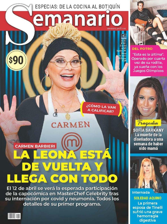 Carmen Barbieri: La leona está de vuelta y llega con todo