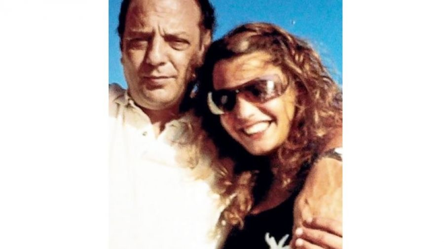 Baby y su hija Maria Paz