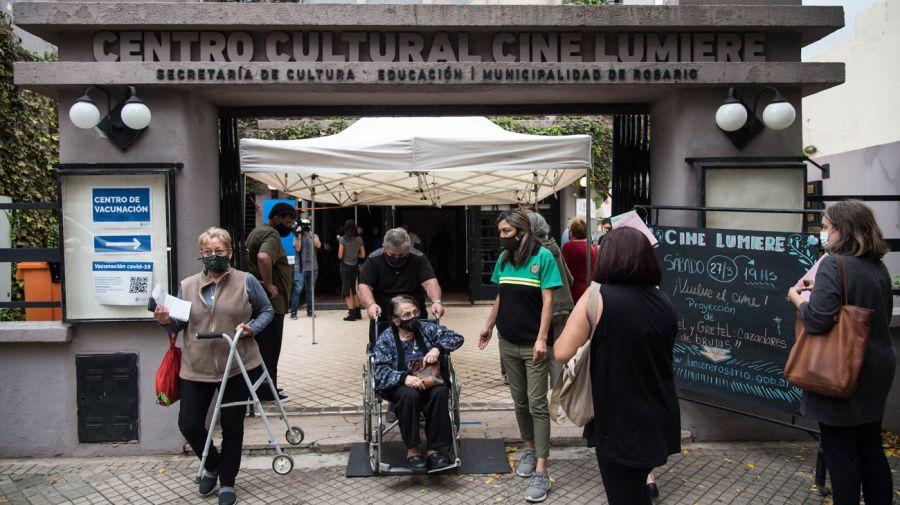 Cine lumiere Centro Cultural Rosario Covit-19 Vacuna