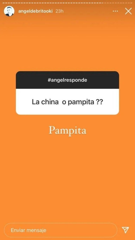 ¿Cómo reaccionó? El día que Ángel de Brito tuvo que elegir entre Pampita y la China Suárez