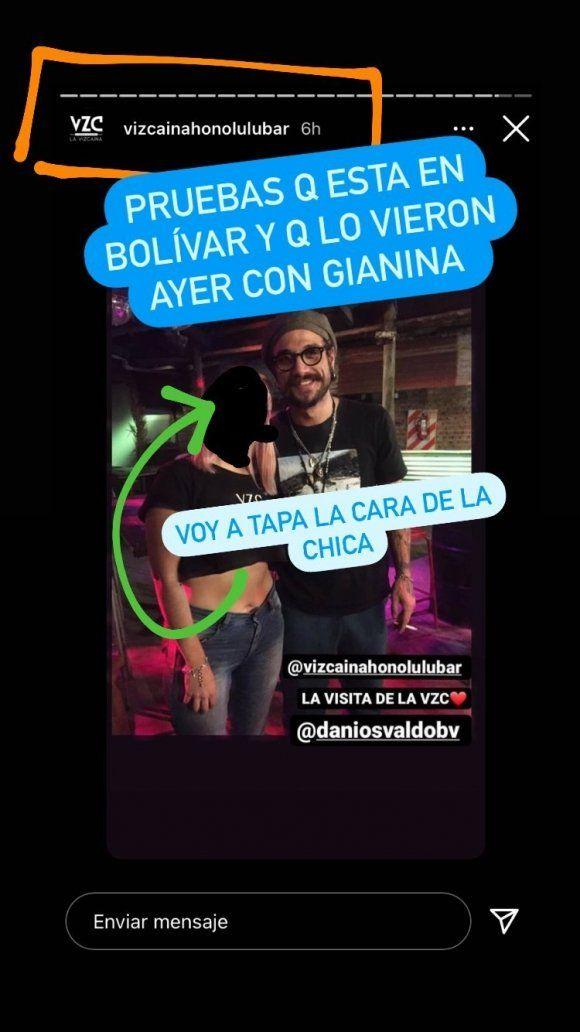 Daniel Osvaldo y Gianinna Maradona estarían juntos en Bolivar: las pruebas